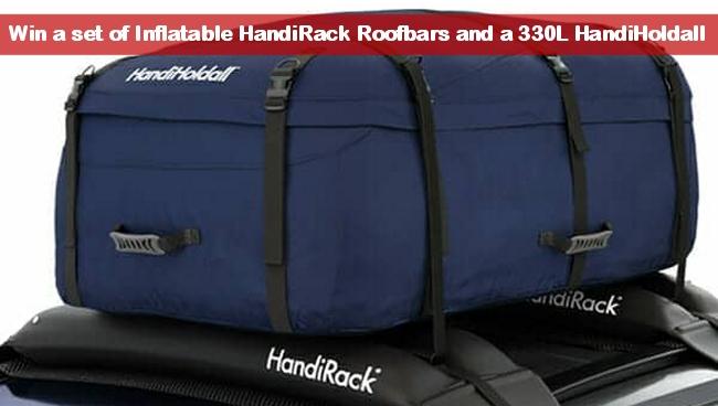 Win An Inflatable HandiRack Roof Rack And A Waterproof HandiHoldall