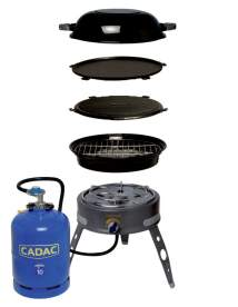 cadac safari chef deluxe uk camp site equipment reviews and features. Black Bedroom Furniture Sets. Home Design Ideas