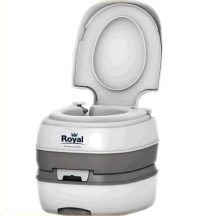 Equipment Reviews and Features - Royal Deluxe Portable Toilet - UK ...
