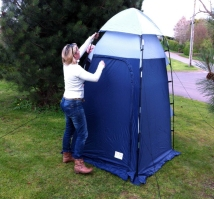 Exclusive 10% Discount Code & Equipment Reviews and Features - A Deluxe Toilet Tent from OLPro ...
