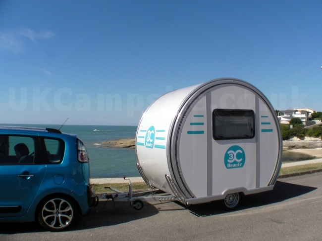Beauer 3x Compact Extendable Caravan Uk Camp Site Articles