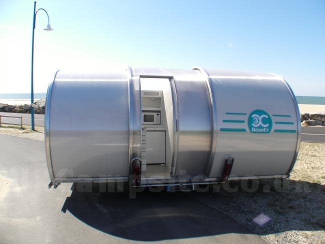 BeauEr 3X Compact Extendable Caravan