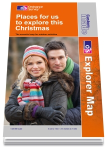 Personalised Os Maps Custom Made Maps from Ordnance Survey   UK Camp Site Articles