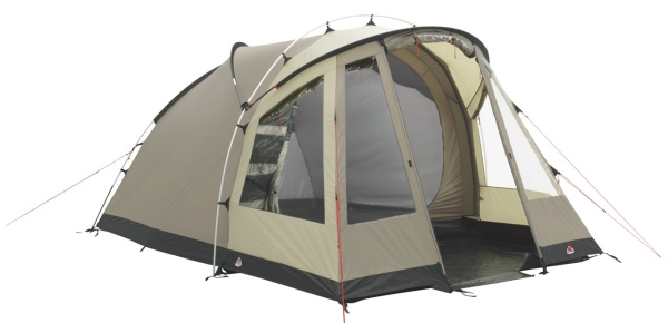 The proven hybrid dome design of the Chalet 400 provides excellent space and standing height. Entry is via a single front door that is backed by a mesh door ...  sc 1 st  UK C&site & Robens Chalet 400 Hybrid Dome Tent - UK Camp Site Articles
