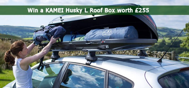 Kamei Husky L Roof Box Uk Camp Site Equipment Reviews
