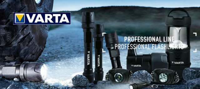Varta 3 W LED Indestructible Torch with 3C Battery