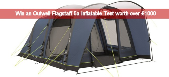 Win Outwell Flagstaff 5a Inflatable Tent UKC&site.co.uk Competitions Industry News and Website Updates Forum Messages  sc 1 st  UK C&site & Win Outwell Flagstaff 5a Inflatable Tent UKCampsite.co.uk ...
