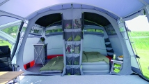 ... of the outer tent above the inner to act as a barrier to radiant heat working with the Outwell Night Sky Ceiling to help create the ideal ambience for ... & New Tent Bedroom Designs from Outwell - UK Camp Site Articles