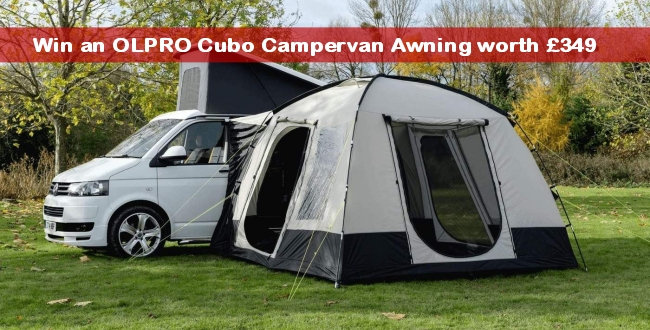 OLPRO Cubo Campervan Awning - UK Camp Site Articles