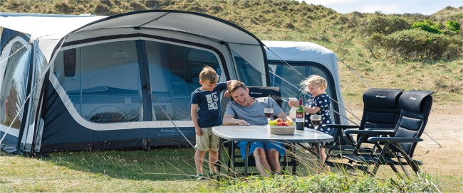 Outwell 2019 Inflatable Caravan Awnings Range Uk Camp Site Articles