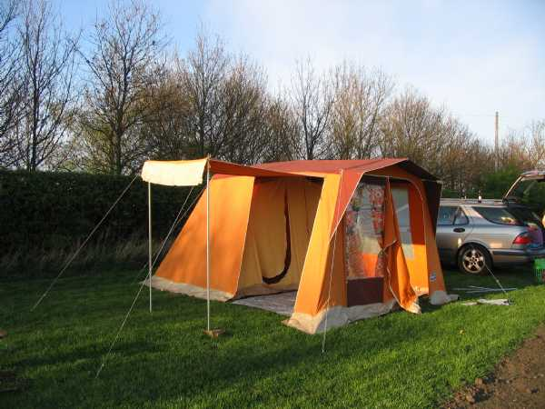 What does a tenner get you these days for A frame canvas tents for sale
