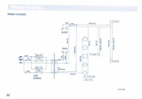 avondale perle orestes 12s plug cables ukcampsite co uk caravan Cutlass Wiring Diagram