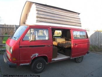 VW Camper, 4 berth, (1984)