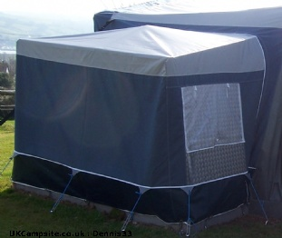 Dorema Tall Awning Annex - Blue/Gray