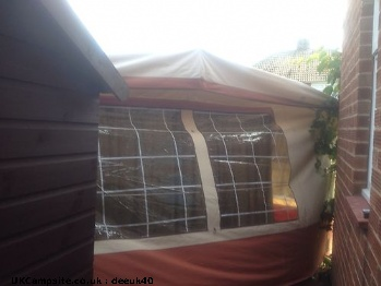 Conway cruiser awning without poles, 6 berth, (1991)