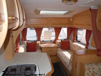 Bailey Pageant Loire, 4 berth, (2003)