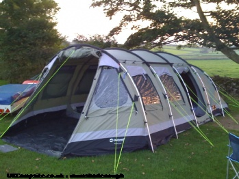 Outwell Norfolk lake polycotton + more, 6 berth, (2009)