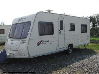 Bailey Series 6 Burgundy, 4 berth, (2007)