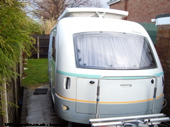 Eriba Future 430T, 3 berth, (2002)