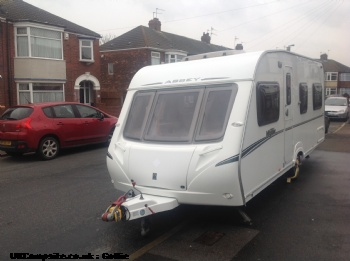 Abbey vogue 495, 4 berth, (2007)