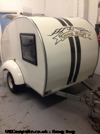 Teardrop trailer camper, 2 berth, (2010)