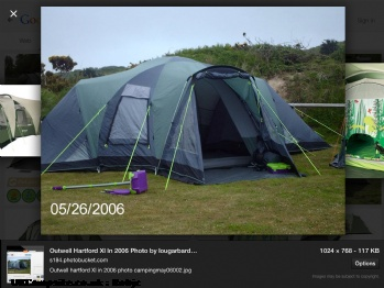 Outwell Hartford XL, 7+ berth
