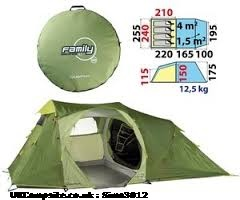 4.1 Pop-up Tent, 3 berth, (2013)