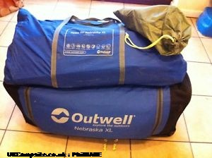 Outwell Nebraska XL, 7+ berth, (2010)