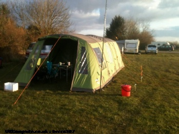Vango Utopia 400 & Canopy & Carpet, 4 berth, (2013)