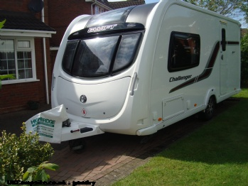 Swift challenger 480, 2 berth, (2011)