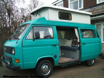 VW T25 Campervan, 2 berth, (1989)