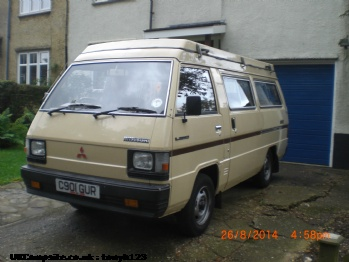 Mitsubishi Galant Turbo, 4 berth, (1986)