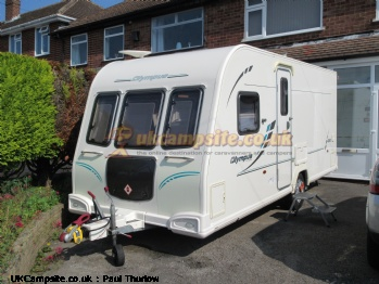 Bailey Olympus 464, 4 berth, (2011)