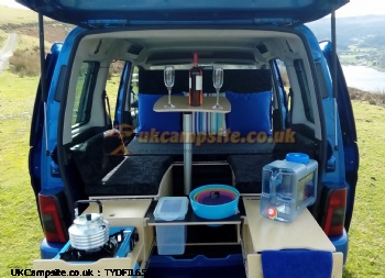 CAMPER VAN 4 IN 1 VEHICLE, 2 berth, (2005)