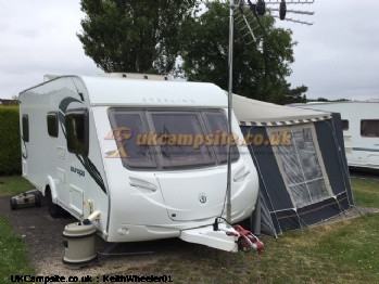 Sterling Europa 545 / Isabella Awning, 4 berth, (2010)
