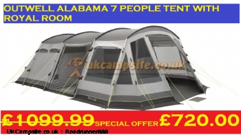 Outwell Alabama BRAND NEW, 7+ berth