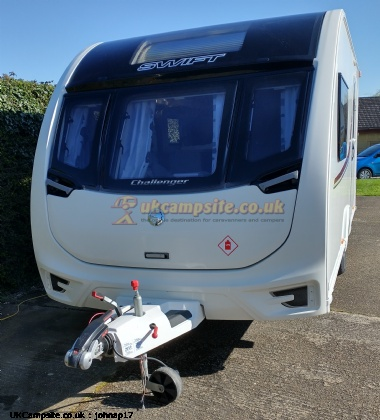 Swift Challenger 480 Alde, 2 berth, (2016)