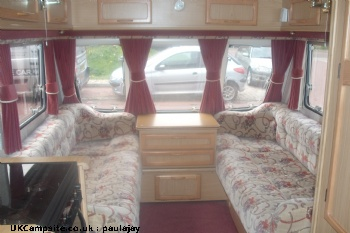 Bailey Pageant Auvergne, 5 berth, (1998)