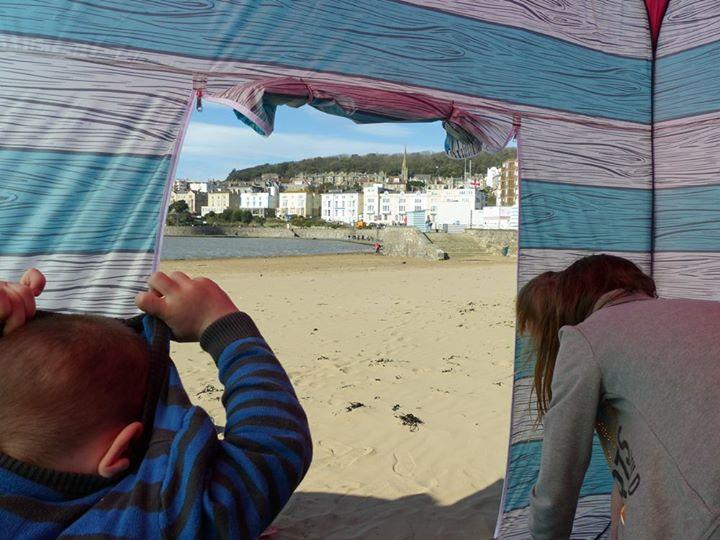 Olpro Pop Up Beach Hut Tent