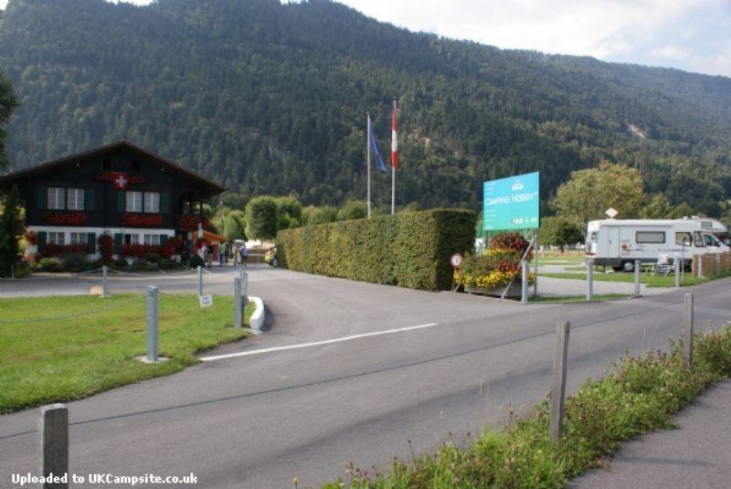 Camping Hobby 3 Interlaken Unterseen Campsites Switzerland