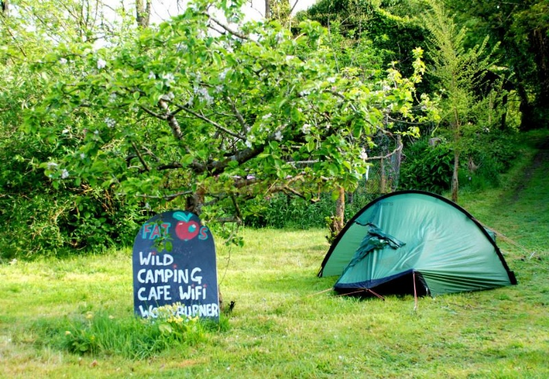 PUBLIC METHODS & Fat Apples Wild Camping  Helston Campsites Cornwall