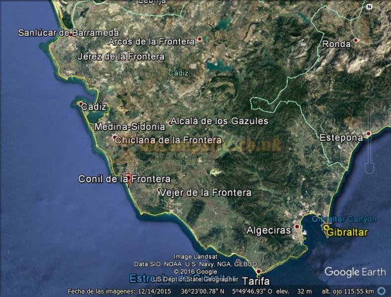 Camping La Rosaleda Cadiz Campsites Spain