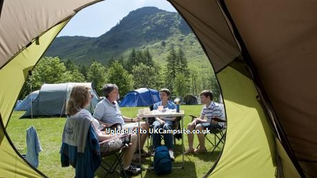 Great Langdale National Trust Campsite And Long Valley Yurts