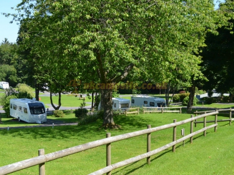 Simple Caravan For Hire On A Private Retreat In Anglesey