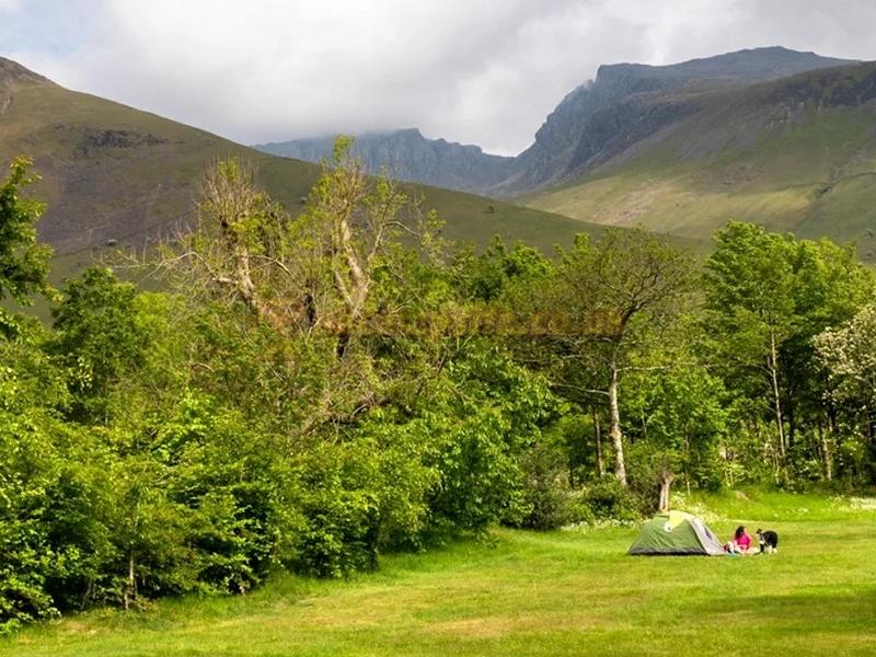 Wasdale Campsite National Trust Gosforth Campsites Cumbria