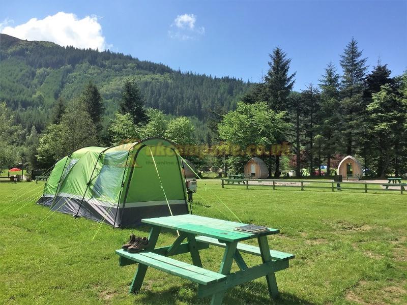 Elegant Reviews Of Resipole Caravan Amp Camping Park  Acharacle Highlands