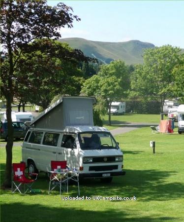 campsites scotland lothian edinburgh mortonhall caravan camping park