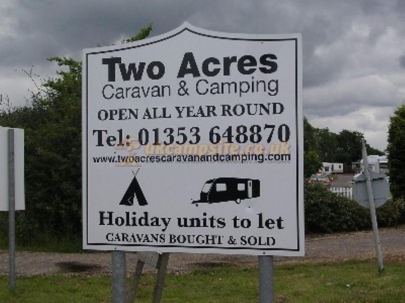 24 Reviews Of Two Acres Caravan Amp Camping Cambridge