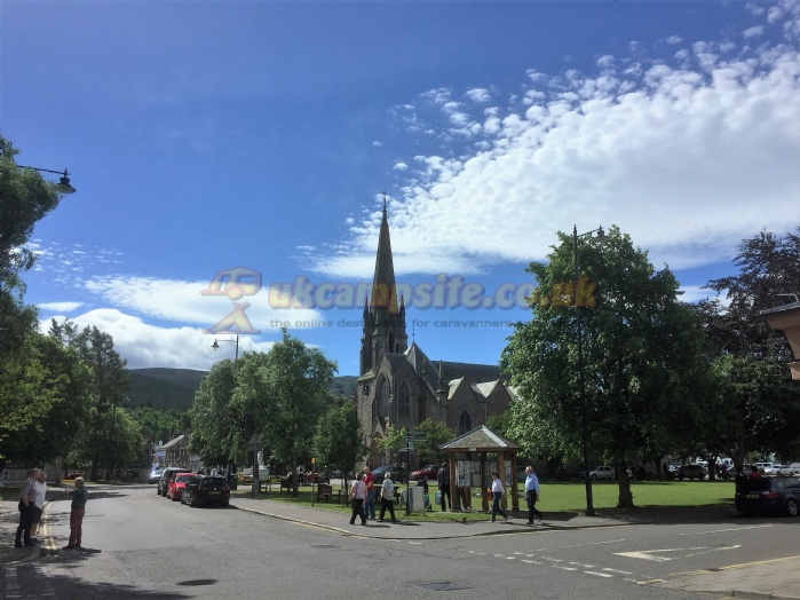 no campsites Scotland Scotland Aberdeenshire Ballater ballater caravan and camping park