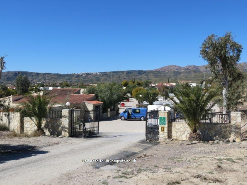 Reviews Of Camping Los Gallardos Almeria Spain Campsite